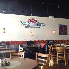 Photo taken at Red Brick Pizza by Anne D. on 5/27/2012