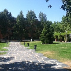 Photo taken at Universidad Carlos III de Madrid - Campus de Getafe by Ana Júlia M. on 7/30/2012