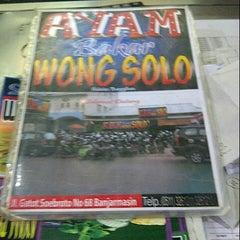Photo taken at Wong Solo by meylan on 8/28/2012