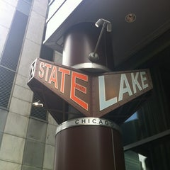 Photo taken at State and Lake by Dr. Aart K. on 5/29/2012