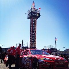 Photo taken at Phoenix International Raceway by Jen L. on 3/4/2012