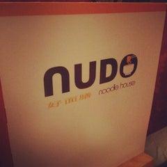 Photo taken at Nudo by Rosalynn L. on 2/6/2012