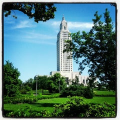 Photo taken at Louisiana State Capitol by Kevin B. on 4/7/2012