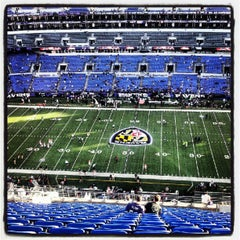 Photo taken at M&T Bank Stadium by Stacey L. on 9/10/2012