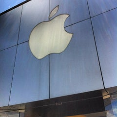 Photo taken at Apple Store, The Promenade Shops at Briargate by Gary M. on 6/12/2012