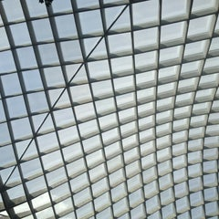 Photo taken at Kogod Courtyard by Vashti J. on 6/25/2012