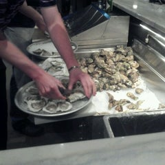 Photo taken at Pearlz Oyster Bar by Jay H. on 3/7/2012