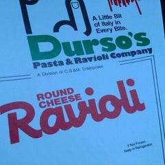 Photo taken at Durso's Pasta & Ravioli Company by Bryan K. on 2/25/2012