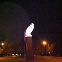 Photo taken at Owl Statue by Gary L. on 3/12/2012