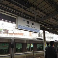 Photo taken at 茨木駅 (Ibaraki Sta.) by somapapa616710 on 5/16/2012