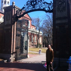 Photo taken at Harvard Square by Maria Alexandra S. on 3/7/2012