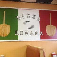Photo taken at Pizza Romana Originale by Brian O. on 7/23/2012