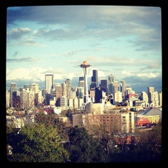 Photo taken at Kerry Park by Elise B. on 5/1/2012