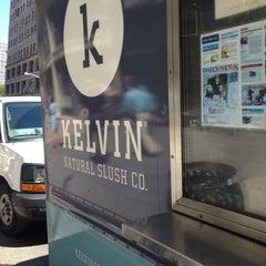 Photo taken at Kelvin Natural Slush Co. Truck by 🍻Nicola🍻 on 8/29/2012