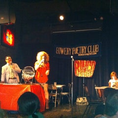 Photo taken at Bowery Poetry Club by Tom K. on 7/2/2012