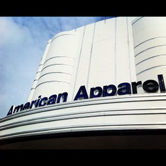Photo taken at American Apparel by Donne A. on 5/1/2012