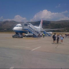 Photo taken at Dubrovnik Airport (DBV) by Danijel C. on 7/31/2012