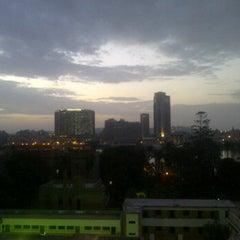 Photo taken at Sheraton Cairo Hotel & Casino by Akrum E. on 5/4/2012