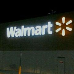 Photo taken at Walmart Supercenter by Bradley M. on 8/18/2012