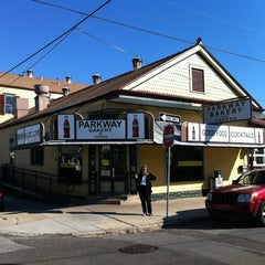 Photo taken at Parkway Bakery & Tavern by Scott F. on 4/18/2012