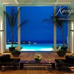 Photo taken at Kempinski Hotel Barbaros Bay by Hakan Ç. on 7/20/2012