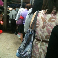 Photo taken at วินมอเตอร์ไซค์ (MRT สุทธิสาร) by Inthedream p. on 9/6/2012