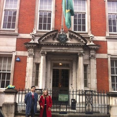 Photo taken at Embassy Of Brazil by Luiza R. on 4/19/2012