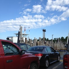 Photo taken at Shelter Island South Ferry - Shelter Island Terminal by Steve H. on 7/3/2012