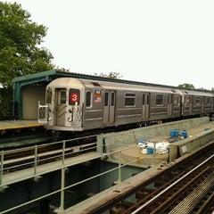 Photo taken at MTA Subway - Saratoga Ave (3) by 🔌Malectro 7. on 6/19/2012