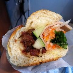 Photo taken at Saigon Vietnamese Sandwich Deli by Kelly Z. on 6/25/2012