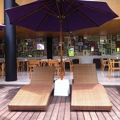 Photo taken at Centra Taum Resort Seminyak by Barbaris on 3/16/2012