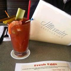 Photo taken at Harvester Restaurant by Caroline W. on 4/18/2012