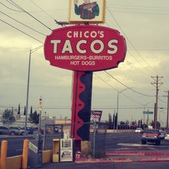 Photo taken at Chico's Tacos by Yesi D. on 6/15/2012