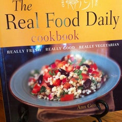 Photo taken at Real Food Daily by Elestine S. on 7/8/2012