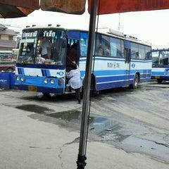 Photo taken at ท่ารถรังสิต-ปทุมธานี by Markleejun L. on 2/9/2012