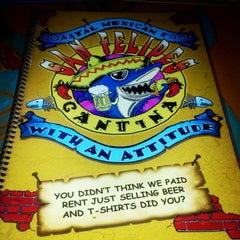 Photo taken at San Felipe's Cantina by Die K. on 7/27/2012