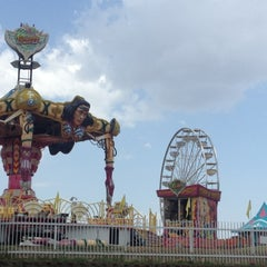 Photo taken at Ozark Empire Fairgrounds by Marcy D. on 7/29/2012