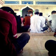 Photo taken at Masjid Jami' Al-Ikhlas by Halim I. on 4/13/2012