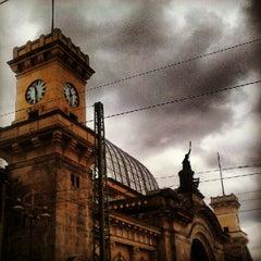 Photo taken at Dresden Hauptbahnhof by Christian on 5/16/2012