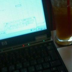 Photo taken at Stand Deli Cafe & Bar Bon Bonne by Akira M. on 8/31/2012