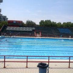 Photo taken at Polisport Stadio del Nuoto by Chiara C. on 6/25/2012