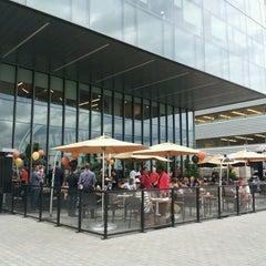 Photo taken at Against the Grain Urban Tavern Corus Quay by Marie R. on 5/30/2012