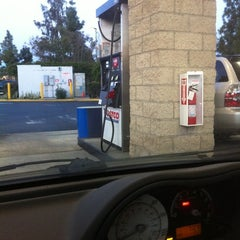 Photo taken at Costco Gas by Cindy B. on 3/3/2012