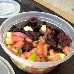 Photo taken at Mezza Mediterranean Grill by Matt Spudart M. on 6/18/2012