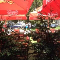 Photo taken at Gussto Cafe by Георги К. on 6/11/2012