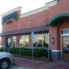Photo taken at McAlister's Deli by William M. on 4/17/2012