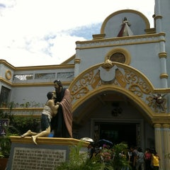 Photo taken at National Shrine of the Divine Mercy by Jeff C. on 4/6/2012