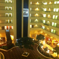 Photo taken at Houston Marriott South at Hobby Airport by Mel N. on 5/27/2012