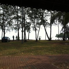 Photo taken at Pantai Cahaya Negeri, PD by Izaddin S. on 8/25/2012
