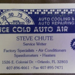 Photo taken at Ice Cold Auto Air by Tim L. on 7/9/2012